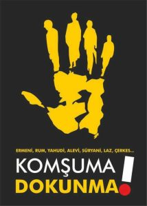 Turkish Anti-Racism Poster