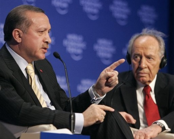 Shimon Peres, Recep Tayyip Erdogan