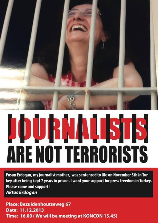 Journalists are not terrorists