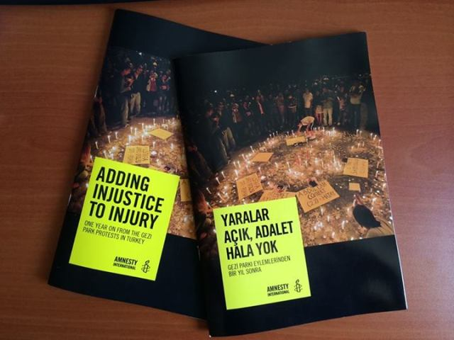 Turkey: Adding injustice to injury: One year on from the Gezi Park protests in Turkey