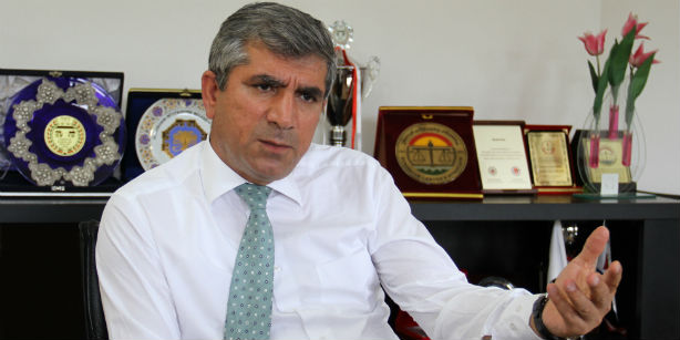 Diyarbakır Bar Association head Tahir Elçi (Photo: Cihan)